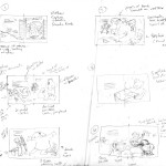 Cleaning up the thumbnail roughs